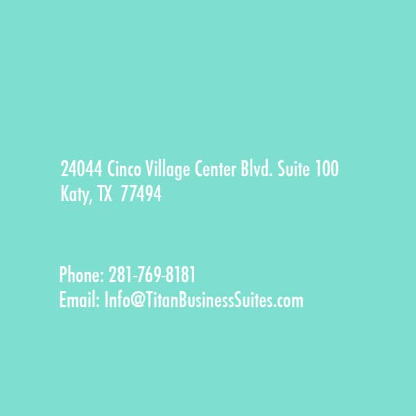 Cinco Village Center Blvd. Suite 100 Katy, TX