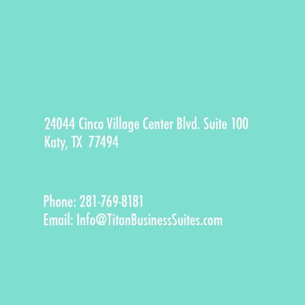 Cinco Village Center Blvd. Suite 100 Katy, TX